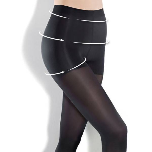 Pierre Robert Hold-In Tights 50 - Black