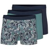 Tiger of Sweden 3 pakkaus Enzo Boxer Short - Blue/Green - Medium