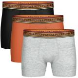 Frank Dandy 3 pakkaus Solid Contast Boxer - Mixed - X-Large