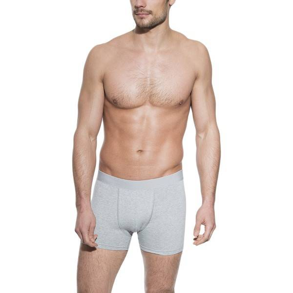 Bread & Boxers Bread and Boxers Boxer Brief - Grey - Medium