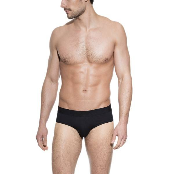 Bread & Boxers Bread and Boxers Brief - Black - Medium