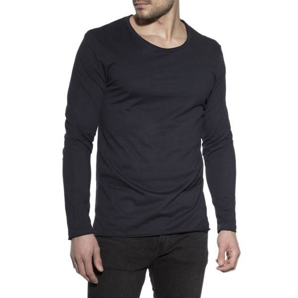 Bread & Boxers Bread and Boxers Long Sleeve Relaxed - Darkblue - Medium