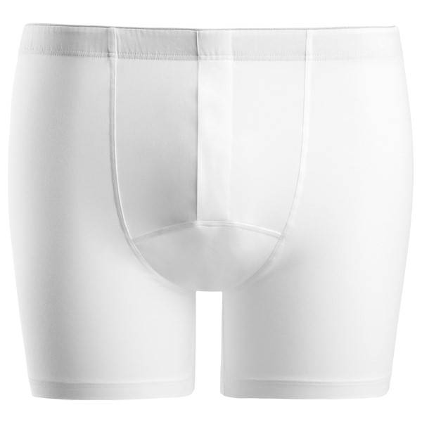Hanro Cotton Superior Short-leg Boxer - White - X-Large