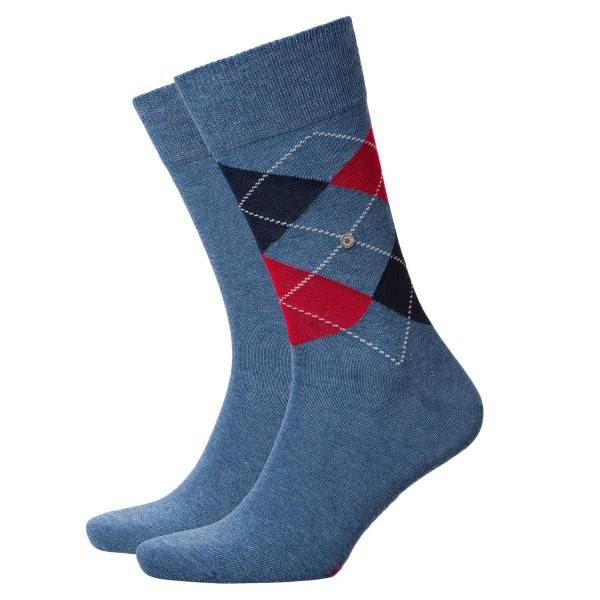 Burlington 2 pakkaus Everyday Mix Cotton Sock - Denim - Koko 40/46
