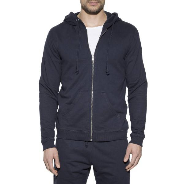 Bread & Boxers Bread and Boxers Men Hoodie - Navy-2