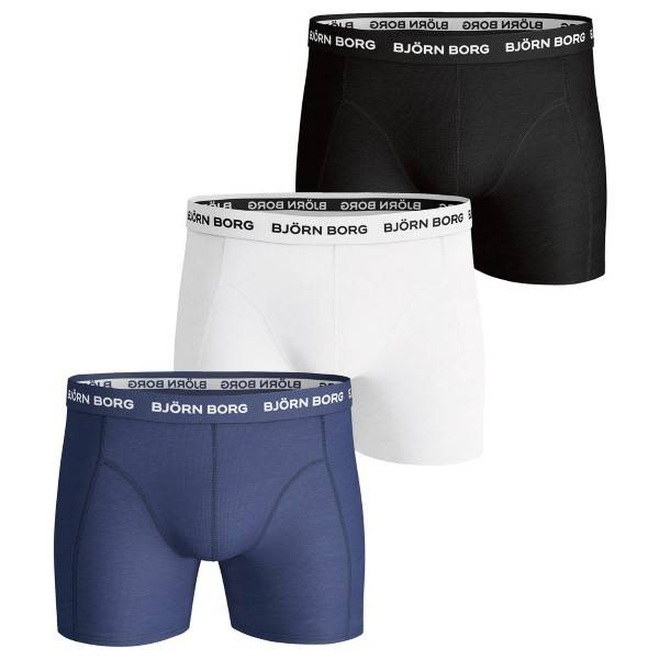 Björn Borg 3 pakkaus Essential Shorts - Mixed