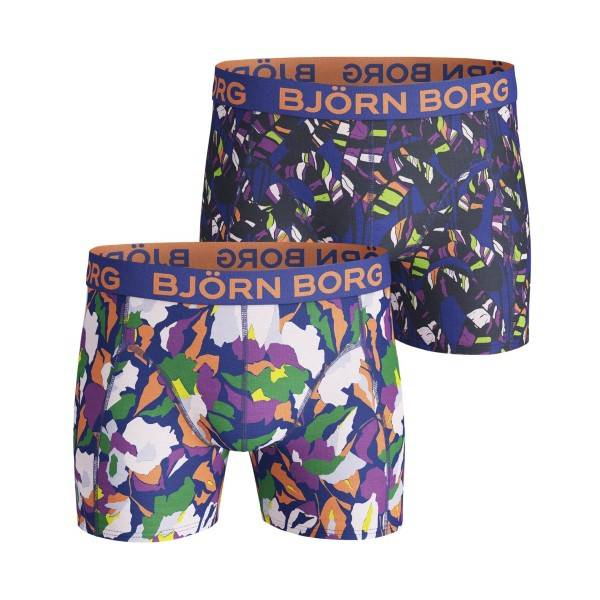 Björn Borg 2 pakkaus Core Flowersome and Tropic Shorts - Pattern-2