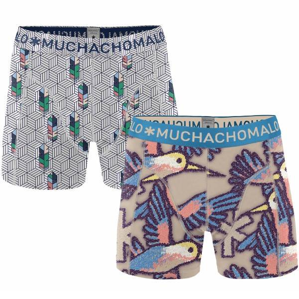 Muchachomalo 2 pakkaus Free Like A Bird Boxer - Mixed - Medium