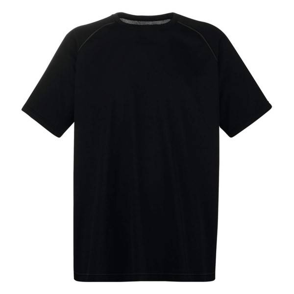 Fruit of the Loom Performance T - Black