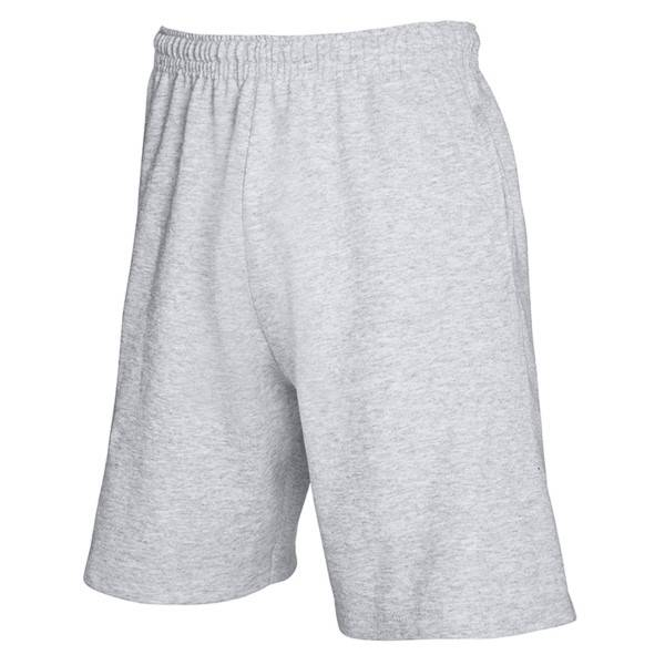 Fruit of the Loom Light Weight Shorts - Greymarl - Small