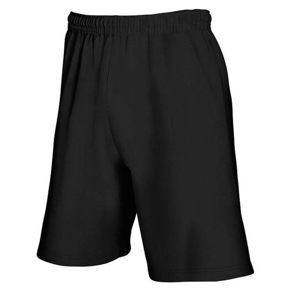 Fruit of the Loom Light Weight Shorts - Black