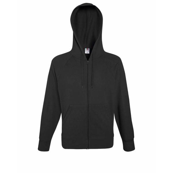 Fruit of the Loom Hooded Sweat Jacket - Graphite