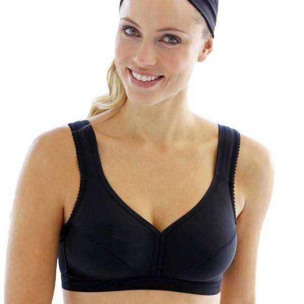 Miss Mary of Sweden Miss Mary Activity Soft Cup Bra 2028 - Black - E 105
