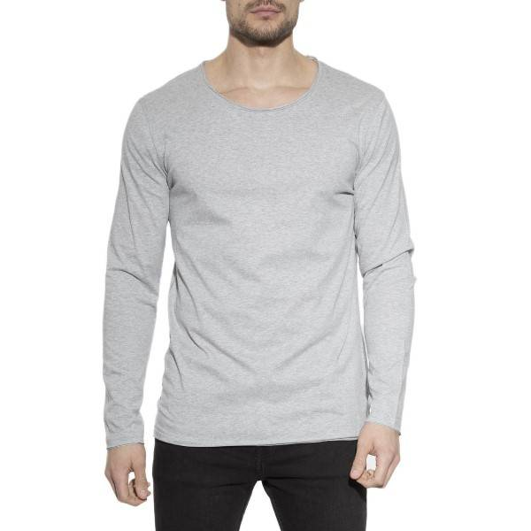 Bread & Boxers Bread and Boxers Long Sleeve Relaxed - Grey - Medium