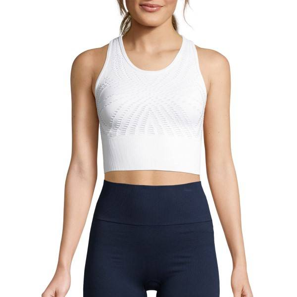 Casall Open Structure Sports Top - White * Kampanja *