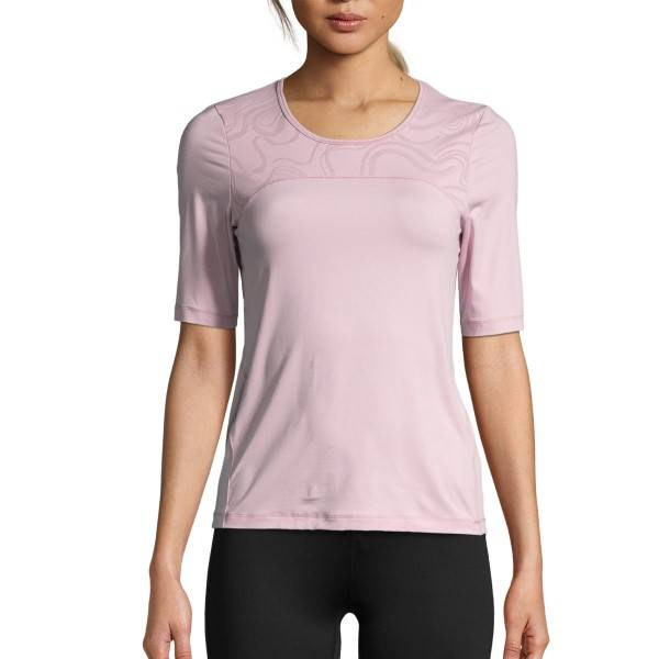 Casall Swirl Tee - Ancientpink
