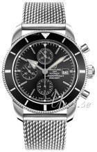 Breitling A1331212-BF78-152A Superocean Heritage II Chronograph Musta/Teräss A1331212-BF78-152A
