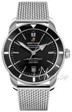 Breitling AB202012-BF74-152A Superocean Heritage II 46 Musta/Teräs Ø46 mm AB202012-BF74-152A