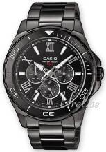 Casio MTD-1075BK-1A1VEF Collection Musta/Teräs MTD-1075BK-1A1VEF