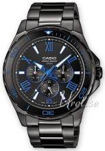 Casio MTD-1075BK-1A2VEF Casio Collection Musta/Teräs MTD-1075BK-1A2VEF