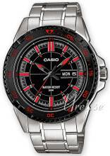 Casio MTD-1078D-1A1VEF Collection Musta/Teräs MTD-1078D-1A1VEF