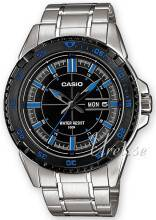 Casio MTD-1078D-1A2VEF Casio Collection Musta/Teräs MTD-1078D-1A2VEF