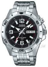 Casio MTD-1082D-1AVEF Casio Collection Musta/Teräs MTD-1082D-1AVEF