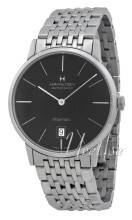 Hamilton H38455131 American Classic Timeless Intra-Matic Musta/Teräs H38455131