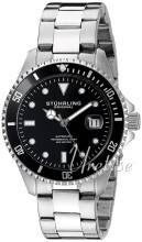 Stührling Original 792.01 Aquadiver Regatta Musta/Teräs Ø42 mm 792.01