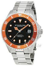 Stührling Original 792.03 Aquadiver Regatta Musta/Teräs Ø42 mm 792.03