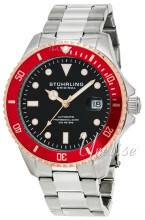 Stührling Original 792.04 Aquadiver Regatta Musta/Teräs Ø42 mm 792.04