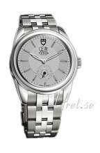 Tudor 57000-68070-SIDST Glamour Double Date Hopea/Teräs Ø42 mm 57000-68070-SIDST