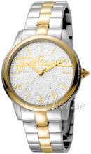 Just Cavalli JC1L006M0135 Glam Chic Hopea/Kullansävytetty teräs Ø36 mm JC1L006M0135