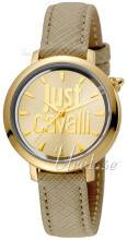 Just Cavalli JC1L007L0025 Logo Kullattu/Nahka Ø34 mm JC1L007L0025