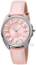 Just Cavalli JC1L008L0035 Logo Pinkki/Nahka Ø34 mm JC1L008L0035