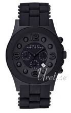 Marc by Marc Jacobs MBM2567 Pelly Chrono Musta/Teräs Ø42 mm MBM2567