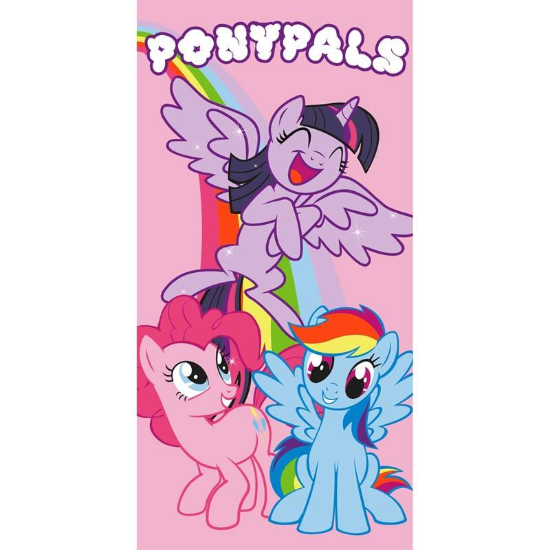 My Little Pony Kylpypyyhe, 70 x 140 cm, Pony Pals