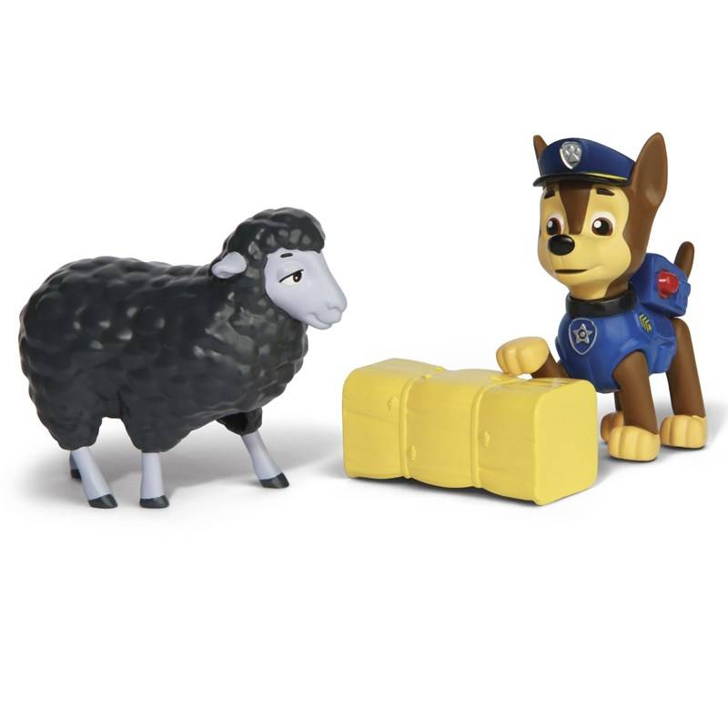 Paw Patrol Rescue Action Pack with friends, Chase and Marley Rescue Set
