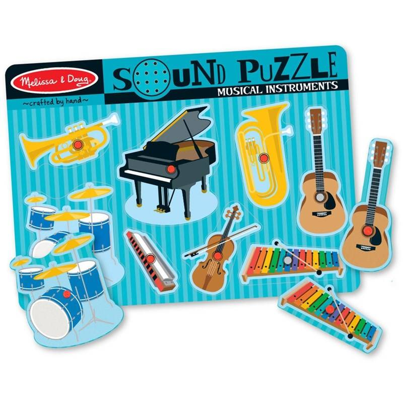 Melissa & Doug Sound Puzzle, Musical Instruments