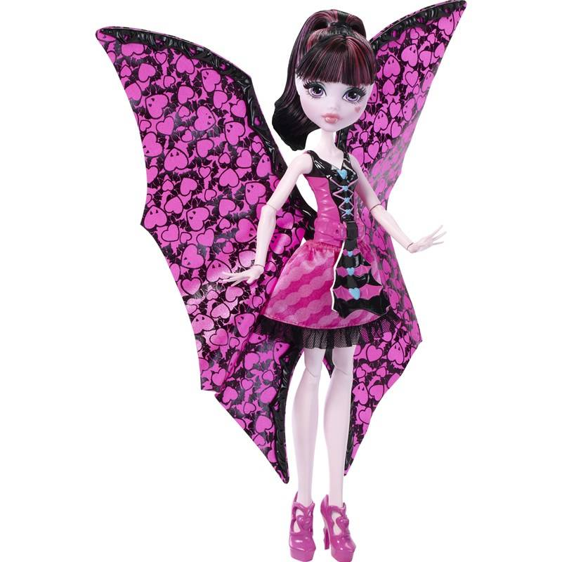 Monster High Ghoul-to-Bat Draculaura, Muunneltava nukke
