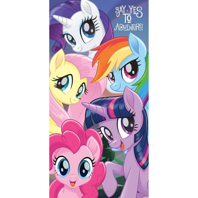My Little Pony Kylpypyyhe, 70 x 140 cm, Say Yes To Adventure