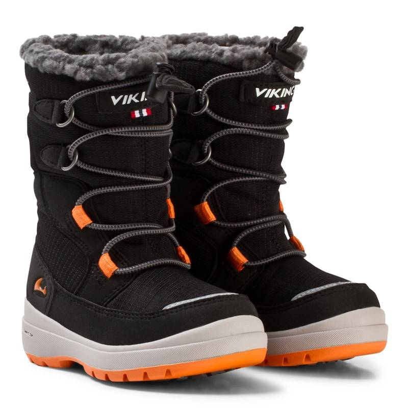 Viking Talvikengät, Totak GORE-TEX®, Black/Orange21 EU