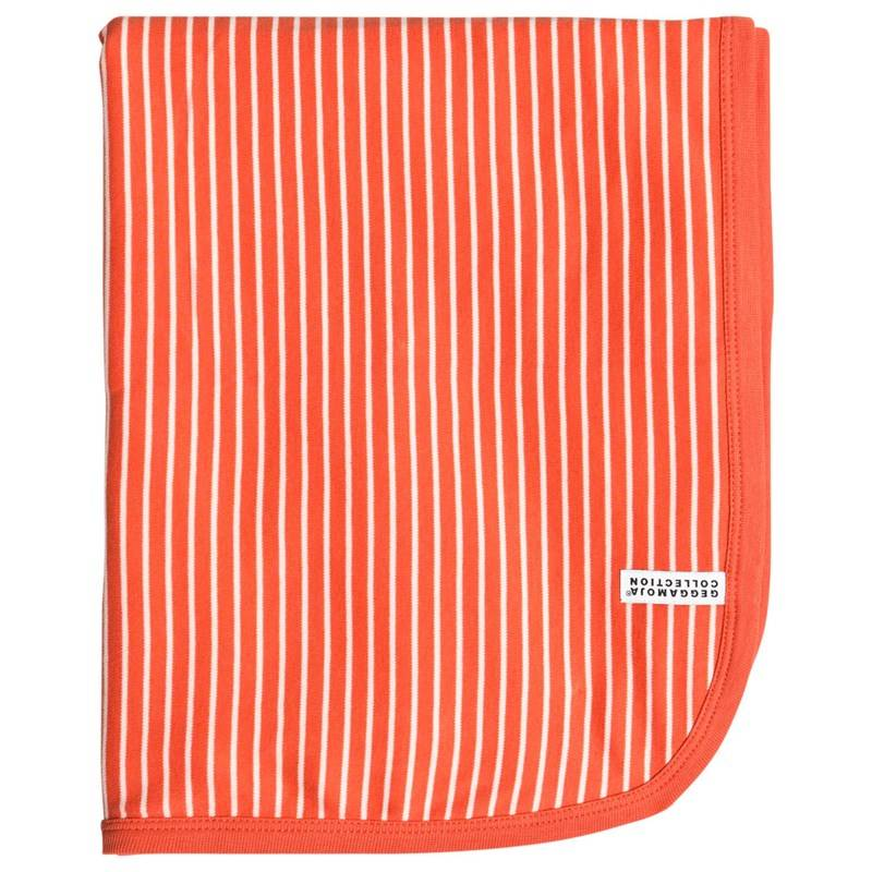 Geggamoja Baby Blanket L.Orange/Beige