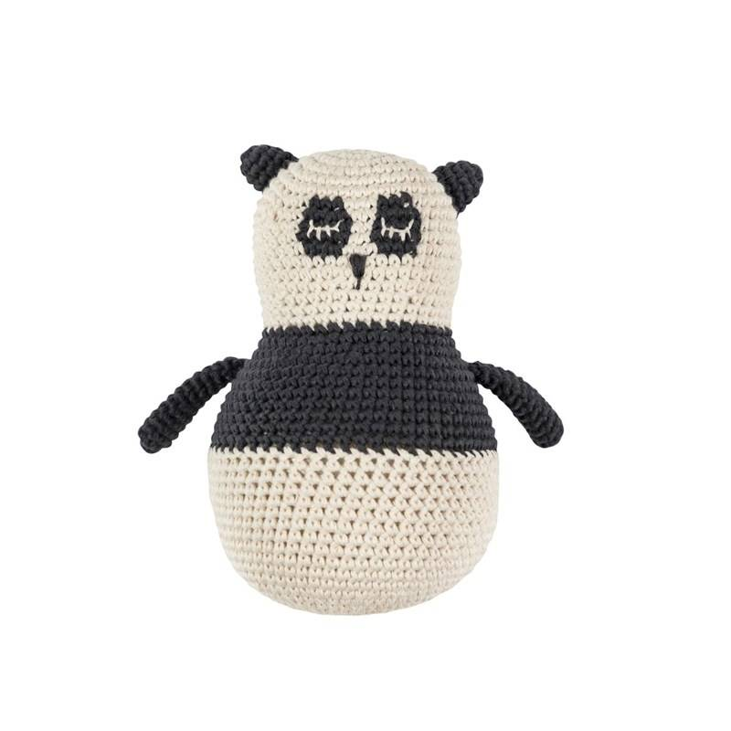 sebra Crochet Toddler Panda