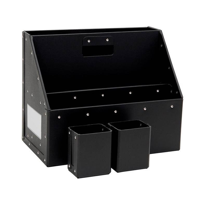 Bigso Box of Sweden Carrie Portable Organizer Black