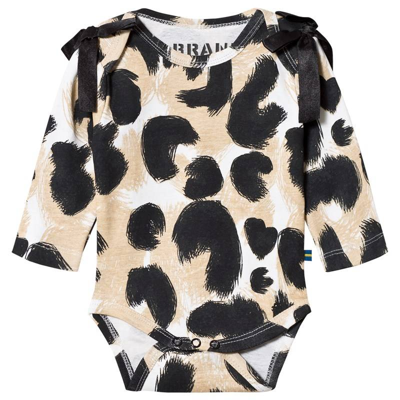 The BRAND Interlock Baby Body Leopardikuvio56/62