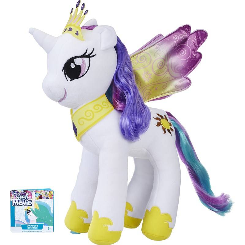 My Little Pony Large Rooted Hair Plush Princess Celestia