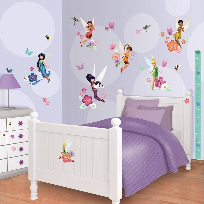 Walltastic Seinäsiirtokuvat, Disney Fairies