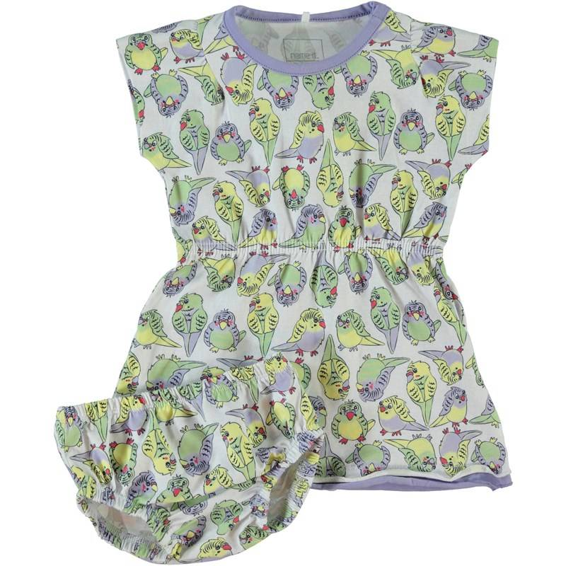 Name It Mekko alushousuilla, Helle, Newborn, Pastel Green56 cm
