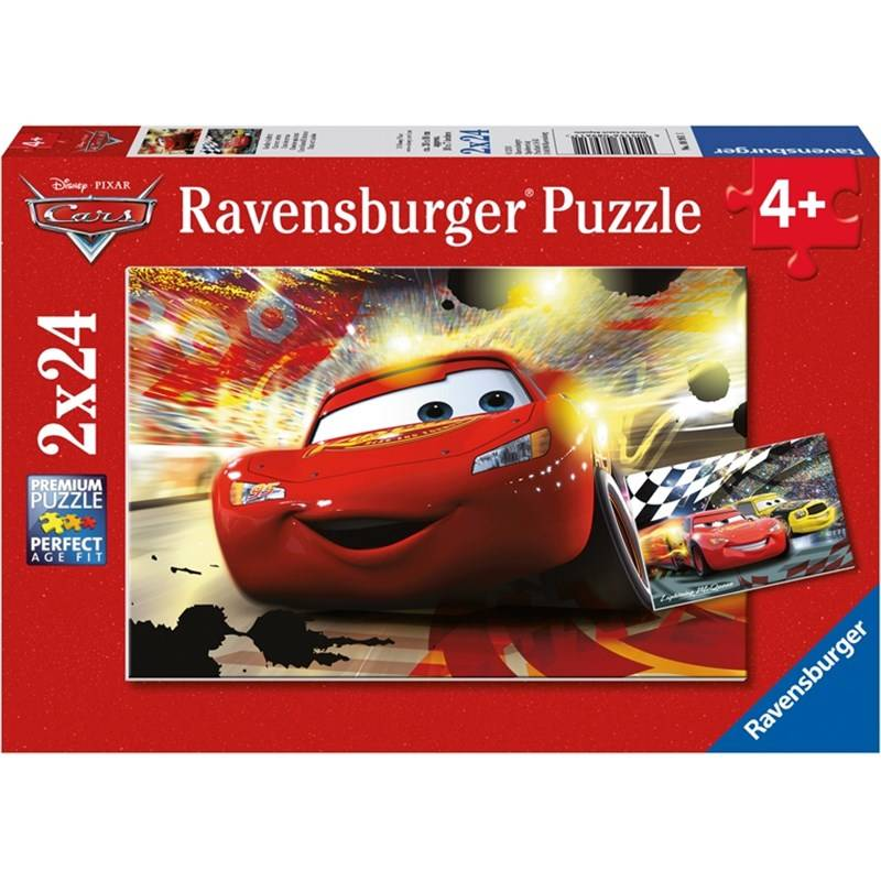 Ravensburg Palapeli, Disney Pixar Cars, Grand Entrance, 2 x 24 palaa